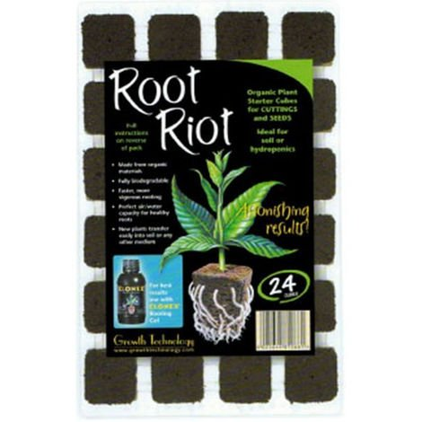 """main image of """"Cubes de germination, bouturage - Root Riot - 24 pièces - Growth Technology"""""""