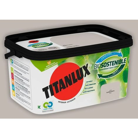 Cubeta de pintura Biosostenible 4L Titanlux