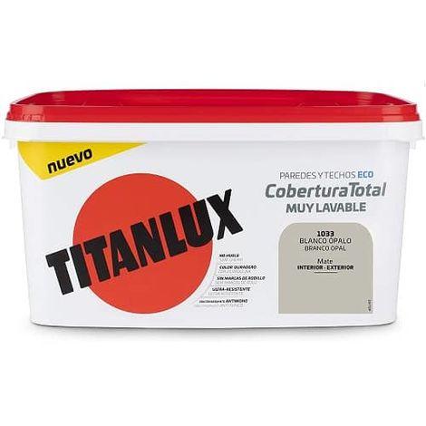 Cubeta pintura cobertura total 4L Titan
