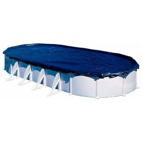 Cubierta de invierno piscina ovalada Gre