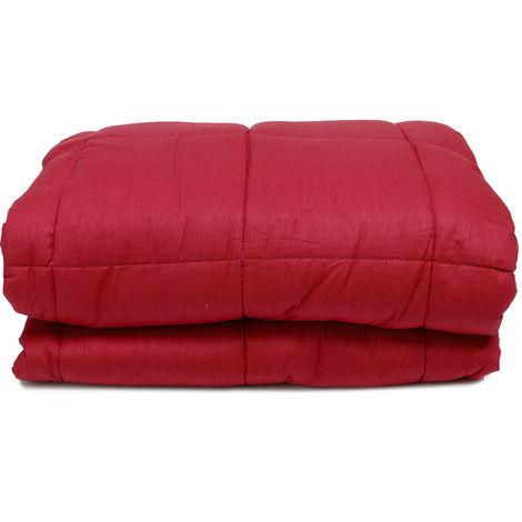 Cubierta de terapia sensorial pesada ponderada de 120X180 cm para adultos Tdah algodón antiestrés Hasaki