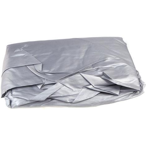 Cubierta del coche, media cubierta de revestimiento de PVC, 270 * 150 cm