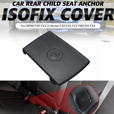 Cubierta ISOFix de asiento trasero para niños para BMW F30 F31 3-Series F20 F21 F22 F80 M3 F34