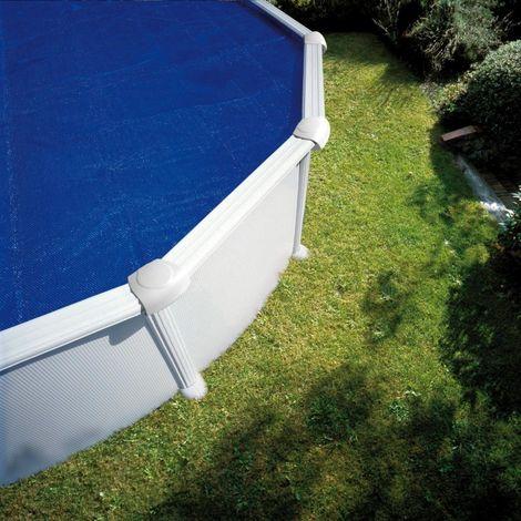 Cubiertas Isotermicas Ovaladas Gre Elige la medida de tu piscina:500x300 cm - 180 micras - CPROV505