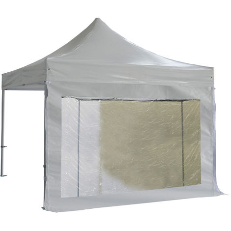 Cubierta lateral gran ventanal con cortina 3m PVC 520g / m2 - Unidad