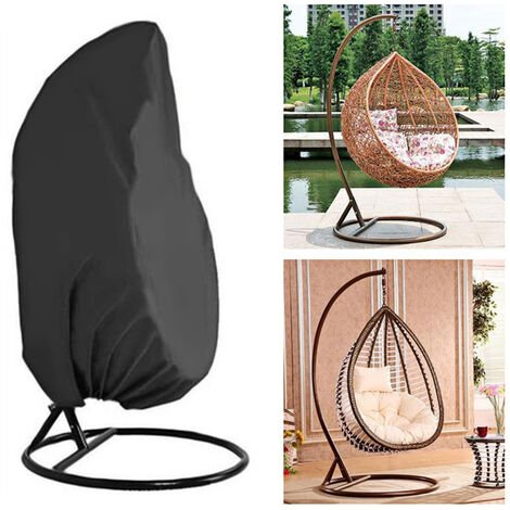 Cubierta para silla colgante para patio, cubierta antipolvo impermeable duradera para silla oscilante