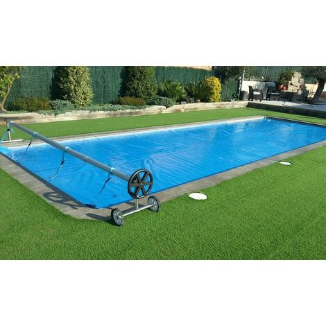 """main image of """"Cubierta piscina verano GeoBubble 400 micras para piscinas de 2 metros de ancho (Con refuerzo en los dos laterales estrechos)."""""""