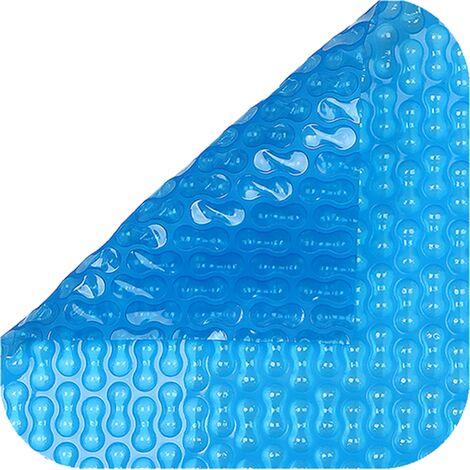 Cubierta piscina verano GeoBubble 400 micras para piscinas de 6 metros de ancho .