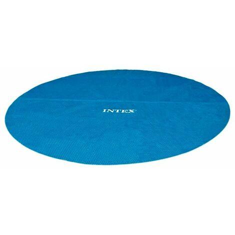 Cubierta solar de piscina redonda Intex Medidas 244CM