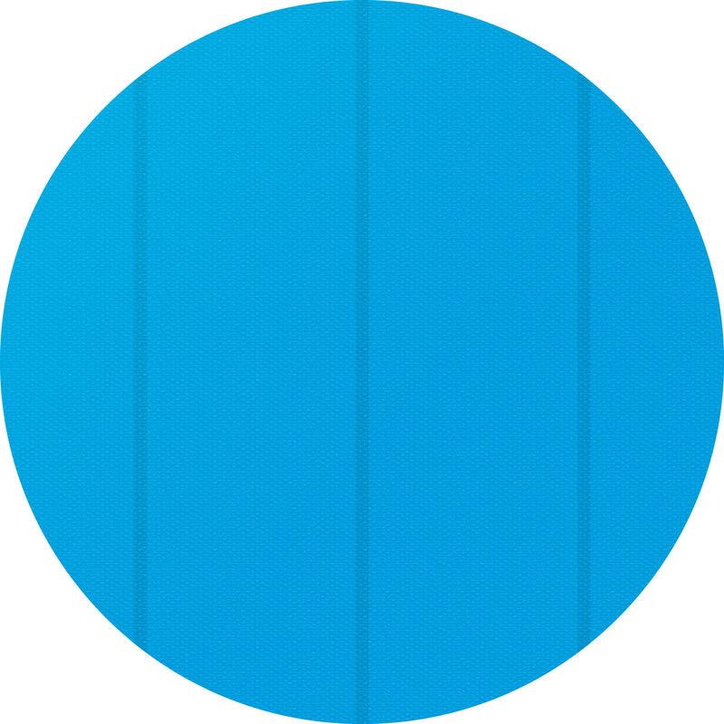 Cubierta solar para piscina redonda - lona para cubrir piscinas, cubre piscinas flotante para cortar a medida, cobertor solar ligero para piscina - Ø
