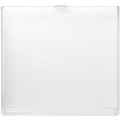 Cubierta tapa transparente para etiquetero Simon 44 Aqua 4400092-138