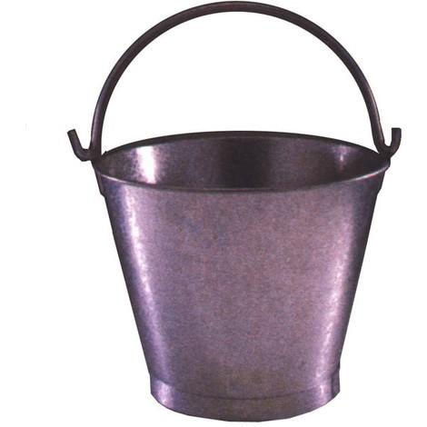 Cubo Agua Conico Galvanizado - 13'' - 12 Litros