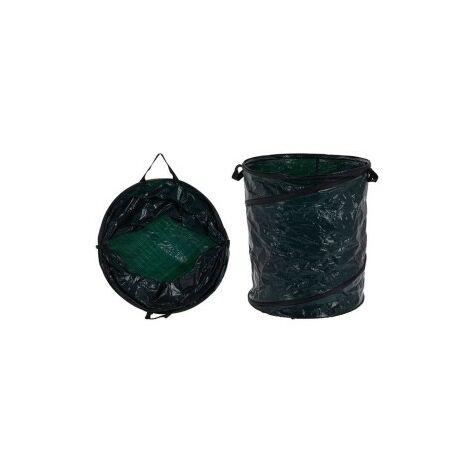 Cubo basura plegable 87l 45xh55 cm