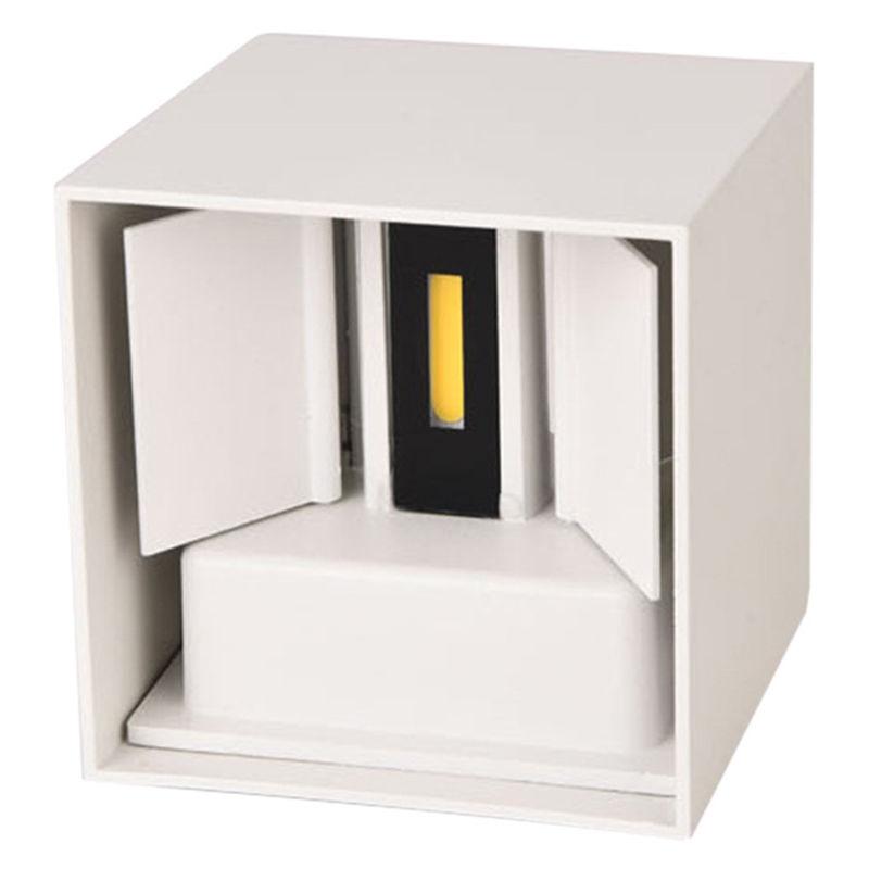 Cubo cuarto de bano LED de luz de lampara de pared, AC85 ...