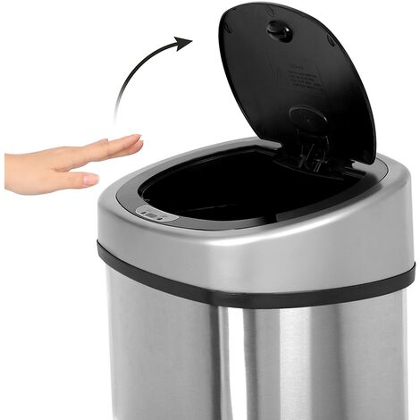 Cubo de basura apertura automática