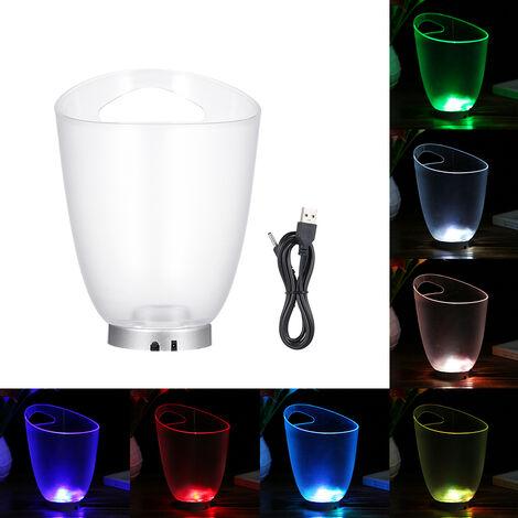 Cubo de hielo de un LED de la lampara, Del 4, cambio de color automatico, 4 L