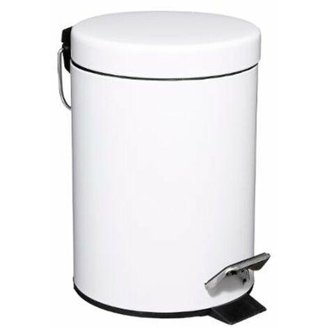 Cubo de metal 3 litros para baño