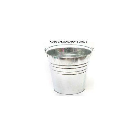 "main image of ""Cubo galvanizado 12 litros"""