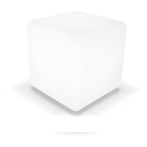 Cubo LED RGB Decorativa 30x30cm con Mando 7hSevenOn Outdoor