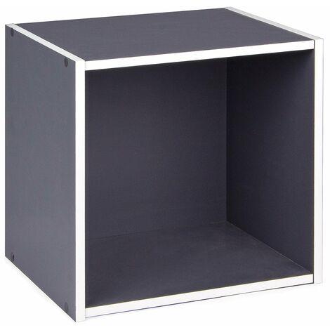 Cubo mensola 35 cm componibile a libreria arredamento moderno