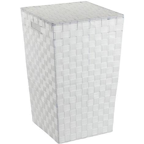 Cubo para la ropa sucia Adria Square blanco WENKO