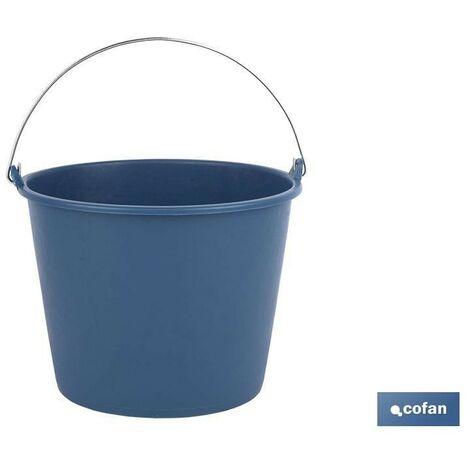 Cubo plastic asa metal 16l