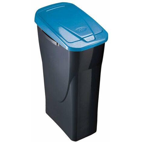Cubo plástico para reciclaje basura 25L