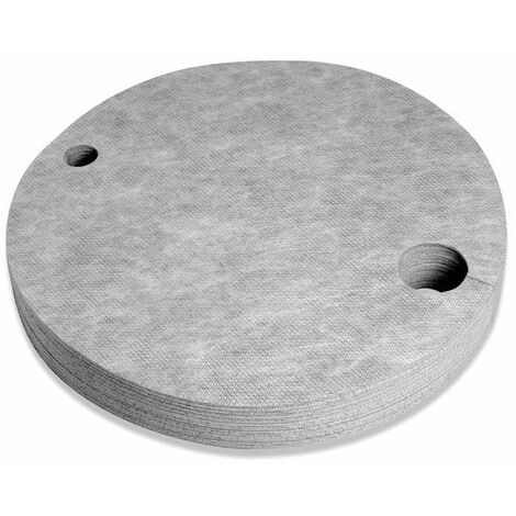 Cubre bidón antipelusa absorbente universal con doble espesor