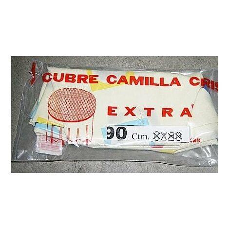 Cubre Camilla Mesa 100cm Semihule Estampado Pl Teplas