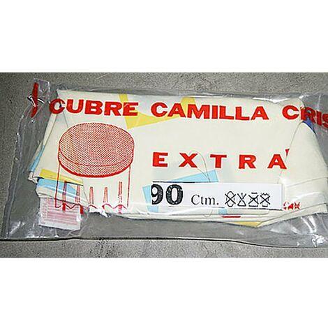 Cubre Camilla Mesa Semihule Estampado 100Cm Plastico Teplas 1 Metro
