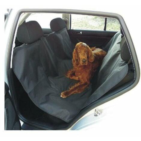Cubreasientos para perros completo de coche medidas 140 x 145 cm permite cubrir toda la parte trasera y llevar pasajeros.