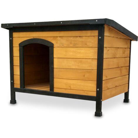 Cuccia in legno trattato per cani TUNDER 86 x 60 x 62 cm