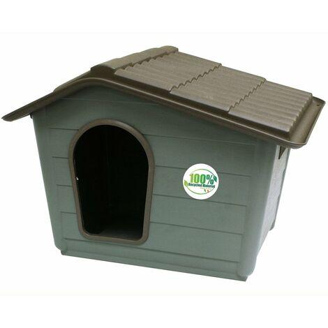 Cuccia modello Villa in materiale riciclato per cani Croci