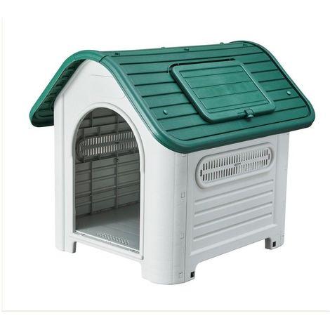 Cuccia per cane dog house kennel media resina pp 87 x 72 x h 75,5 cm ZTB-419