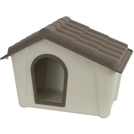 Cuccia per cane e gatto in plastica resinata per interno ed esterno 60x50x41h