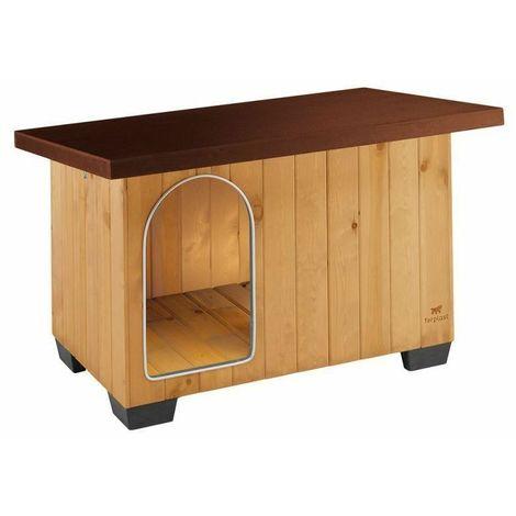 Cuccia per cani in legno baita 100 ferplast