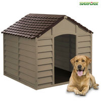 Cuccia per cani in PVC impermeabile marrone