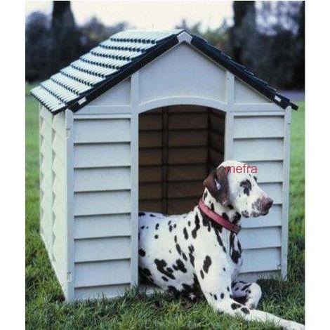 Cuccia Per Cani In Pvcresina 72x72x68h Beige Verde Taglia Grande