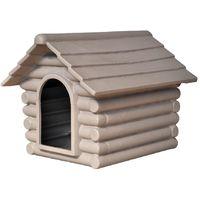 Cuccia Rifugio tortora piccola 57x70x53h cm casetta per cani ce7727e55989