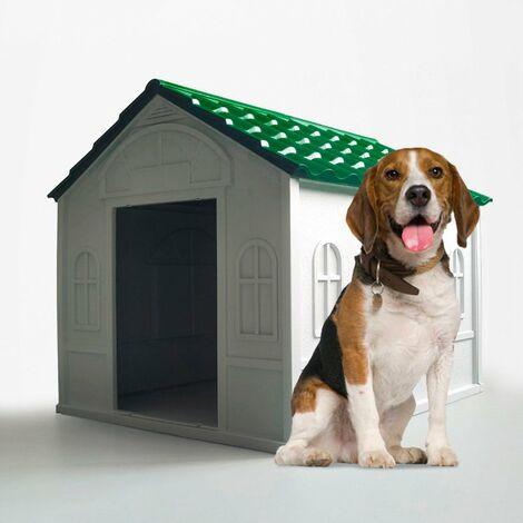 Cucha plastica para perros de raza mediana grande interior exterior DOLLY