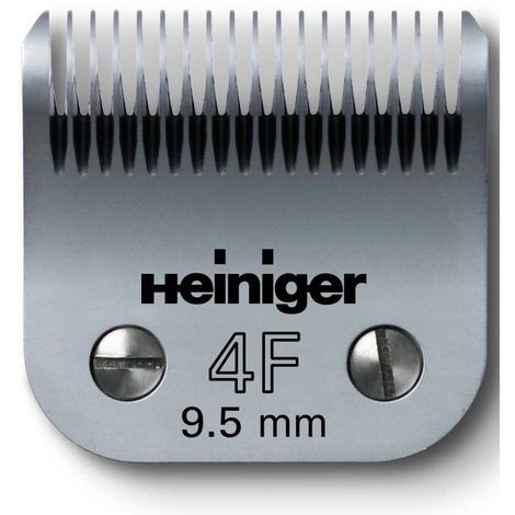 Cuchilla de esquila Heiniger Saphir 9,5 mm por perro