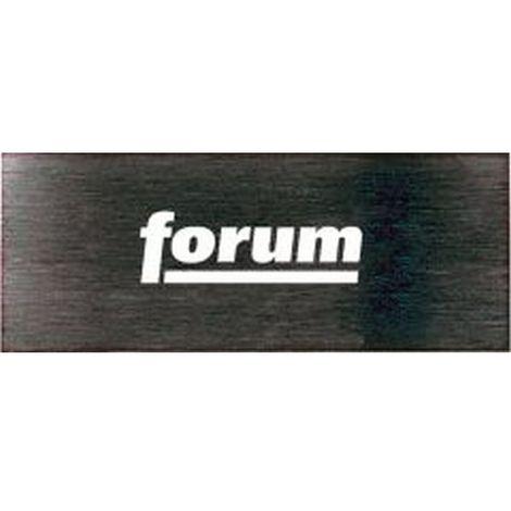 Cuchilla extraíble de rozar : 150 x 60 mm, Espesor : 0,6 mm