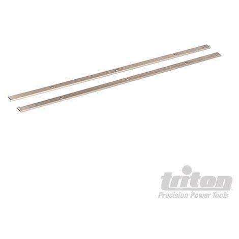 TPTPB Cuchillas para regruesadora 2 pzas Triton 300259