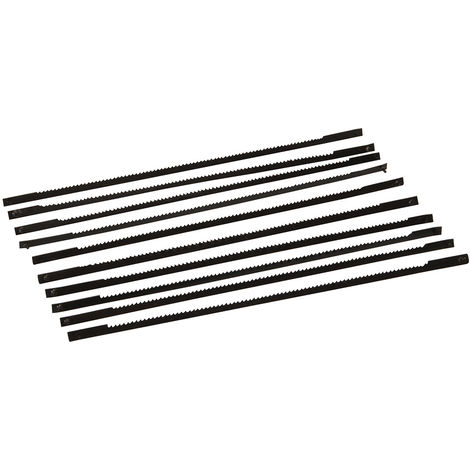 Cuchillas para sierra caladora de banco 130 mm. 10 pzas (10 dpp)