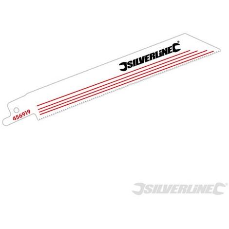 Cuchillas para sierra sable. aleación. 5 pzas (HCS - 18 dpp - 150 mm)