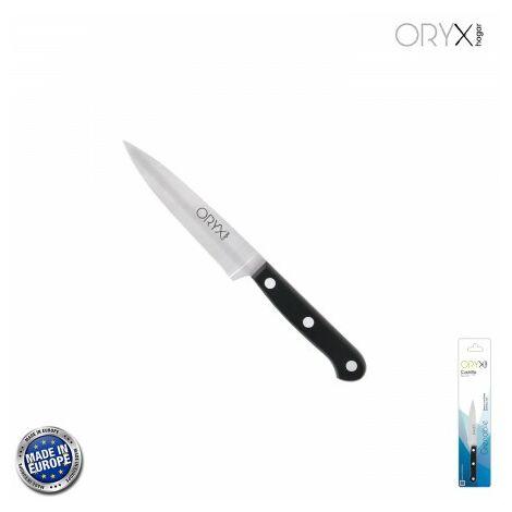 Cuchillo grenoble cocina hoja acero inoxidable 13 cm. negro
