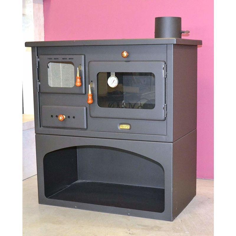Cucina a legna con forno 14 Kw modello Prity