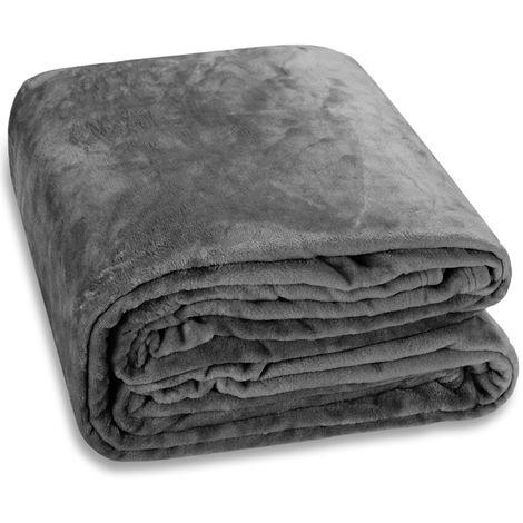 Cuddle TV Sofa Blanket Day Bed Throw Snuggle Cosy Cuddly Soft Fleece