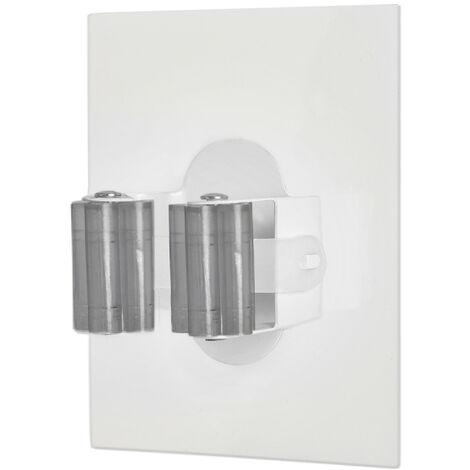 "main image of ""Cuelga escobas adhesivo reutilizable (Köppels E1005T) (Blíster)"""