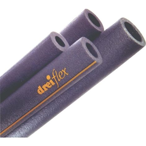 Cuencos de aislamiento de tubos S15-09 15mm/1m
